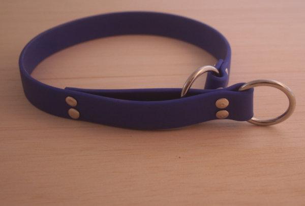 Blaues Schlupfhalsband von Lieblingspfoetchen