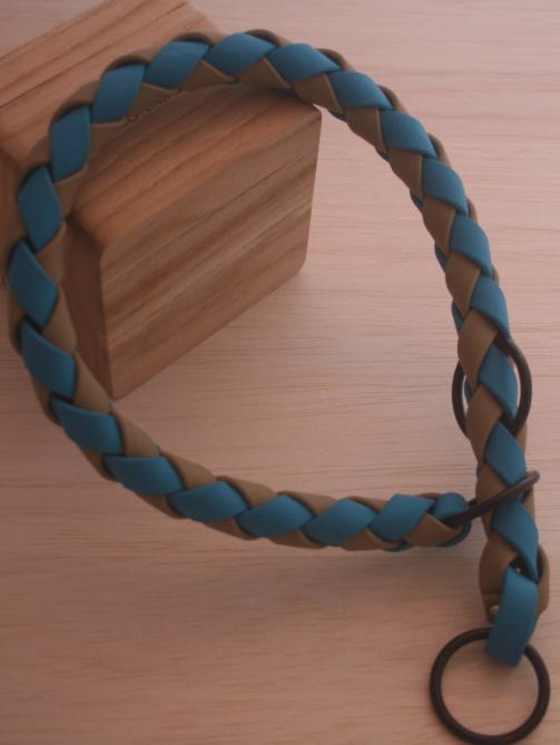 Zugstopphalsband geflochten