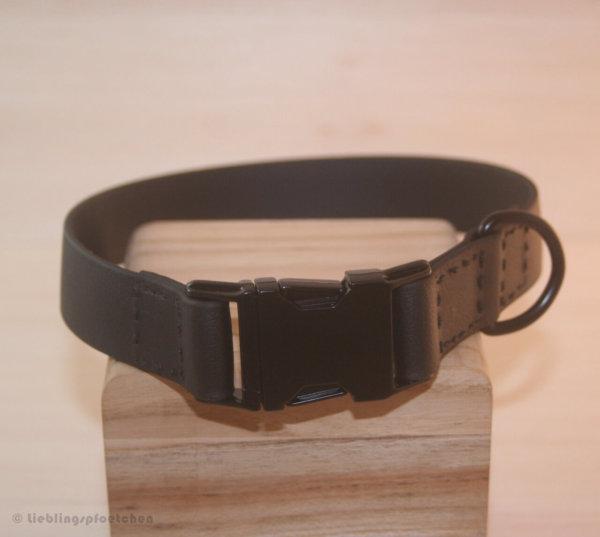 schwarzes Hundehalsband